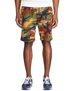 Polo Ralph Lauren Men's Camo-Print Fleece Shorts