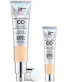 Limited Edition Value Set - Full-Size CC Cream+ SPF 50 and Trial-Size CC Cream+ SPF 50. Only $39.50, A $53 Value!
