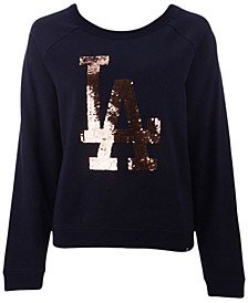 Women's Los Angeles Dodgers Cosmo Crew Sweatshirt