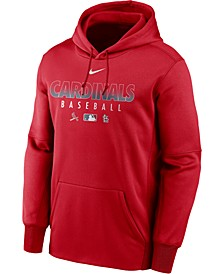 Men's St. Louis Cardinals Authentic Collection Therma Dugout Hoodie
