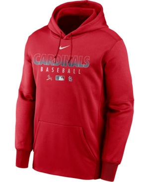 Nike Men's St. Louis Cardinals Authentic Collection Therma Dugout Hoodie