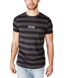Men's Longline Scoop Neck T-Shirt