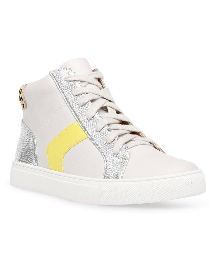 DV Dolce Vita - Alvira Lace-Up High-Top Sneakers