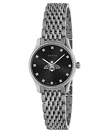 Women's Swiss G-Timeless Slim Stainless Steel Bracelet Watch 29mm
