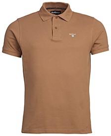 Men's Tartan Pique Cotton Polo