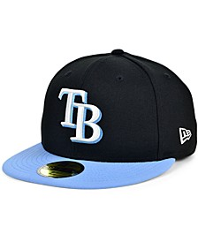 Tampa Bay Rays Plate Patch 59FIFTY Cap
