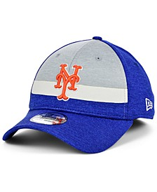 New York Mets Youth Striped Shadow Tech 39THIRTY Cap