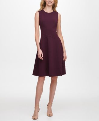 tommy hilfiger fit and flare dress