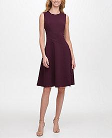 Tommy Hilfiger Sleeveless Fit & Flare Dress