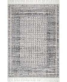 Claudia STGL03A Gray/Multi 4' x 6' Area Rug