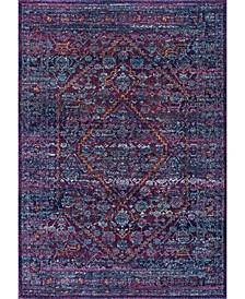 Rima RZBD33B Purple 3' x 5' Area Rug