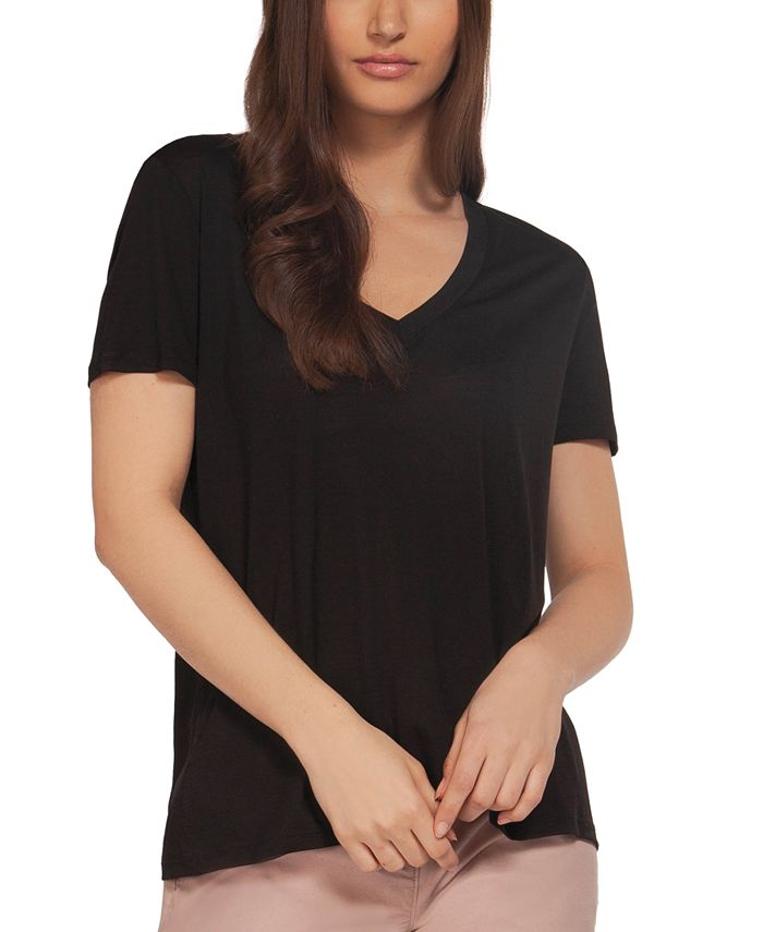 Black Tape - Juniors' V-Neck T-Shirt