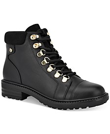 Got It Lace-Up Booties