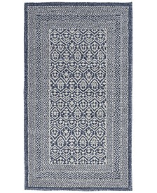 Palermo PMR01 Blue and Gray Rug