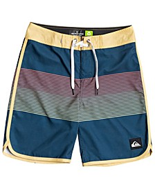 "Big Boys Everyday Grass Roots 17"" Boardshort"