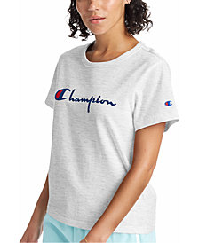 Champion Women's The Girlfriend Cotton Logo T-Shirt
