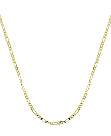 Figaro Link Chains in Gold or Fine Silver Plate