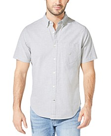Men's Solid Oxford Shirt