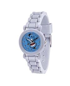 Disney Aladdin Genie Boys' Gray Plastic Watch 32mm