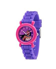 Disney Princess Pocahontas Girls' Pink Plastic Watch 32mm