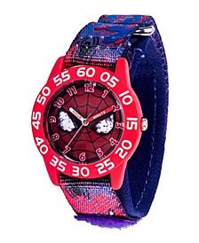 Marvel Spider-Man Boys' Red Plastic Watch 32mm