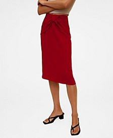 Women's Knot Pencil Skirt