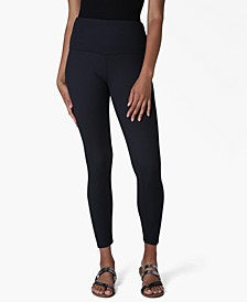 Juniors' Ribbed-Knit High-Waist Leggings