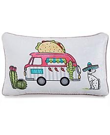 "Taco Truck 14"" x 24"" Decorative Pillow"