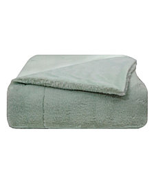Vince Camuto Faux Fur Throw