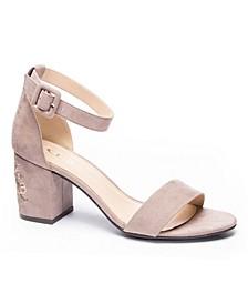 Jayline Block Heel Sandal