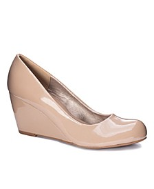 Nima Wedge Heel Pump