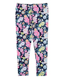Toddler Girls Floral Legging