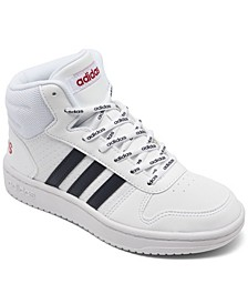 Big Kids Hoops 2.0 Mid Top Casual Sneakers from Finish Line