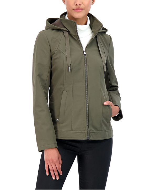 Sebby Juniors' Hooded Rain Jacket