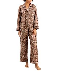 INC Satin Pajama & Headband 3pc Set, Created for Macy's