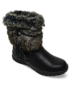 Women's Everett Faux-Fur Booties