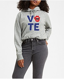 Graphic 2020 Vote Voice Hooded Sweatshirt