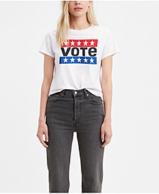 Graphic Vote Cotton T-Shirt