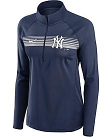 Women's New York Yankees Half Zip Element Pullover