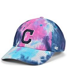 Women's Cleveland Indians Tie Dye Adjustable Cap