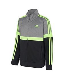 Big Boys Heathered Split Tricot Jacket