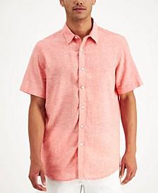 Men's Linen Shirt, Created for Macy's