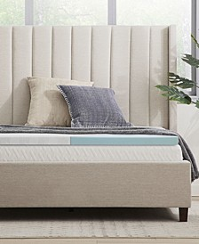 "Sleep All Day 2"" Fast Response Memory Foam Toppers"