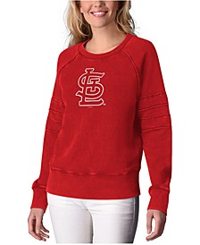 Women's St. Louis Cardinals Bases Loaded Scoop Neck Top