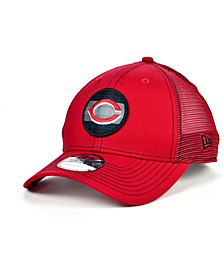 Cincinnati Reds Logo Fill Trucker 9FORTY Cap