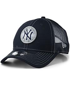 New York Yankees Logo Fill Trucker 9FORTY Cap