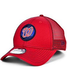 Washington Nationals Logo Fill Trucker 9FORTY Cap