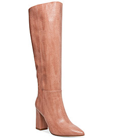 Madden Girl Fireflyy Block-Heel Dress Boots