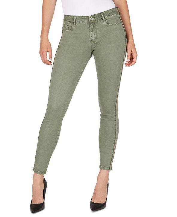 Numero Side-Stripe Skinny Jeans