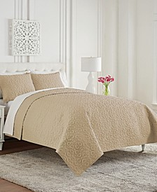 Mosaic Full/Queen 3 Piece Coverlet Set